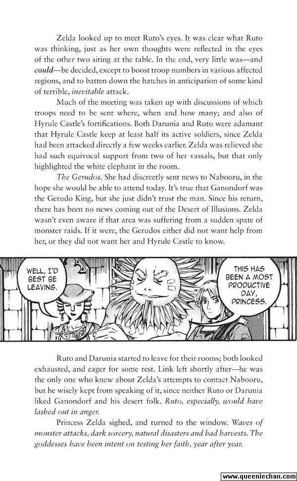 The Legend of Zelda: The Edge and The Light Manga 4.4 Page 1