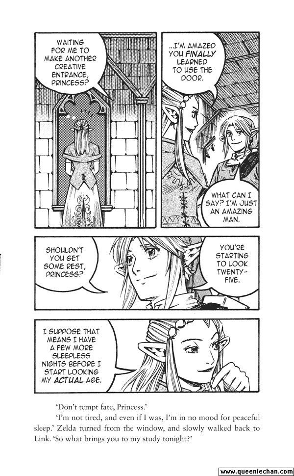 The Legend of Zelda: The Edge and The Light Manga 4.4 Page 2