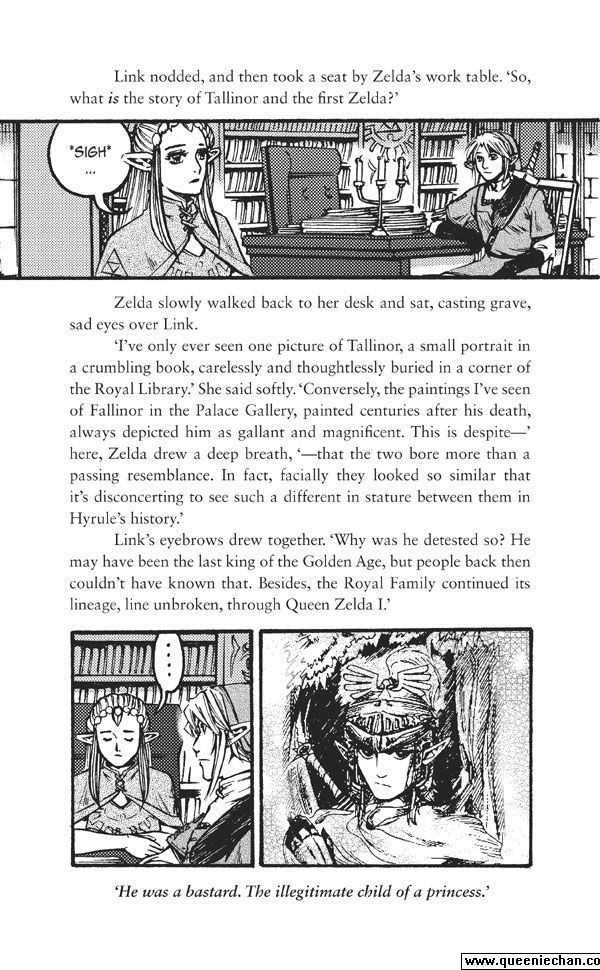 The Legend of Zelda: The Edge and The Light Manga 4.5 Page 2