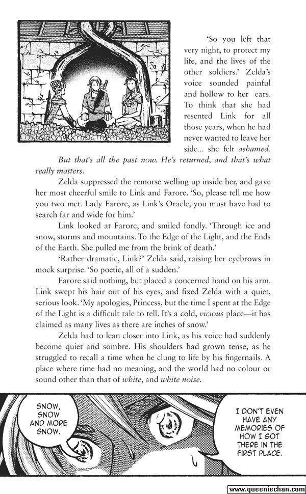 The Legend of Zelda: The Edge and The Light Manga 6.3 Page 2
