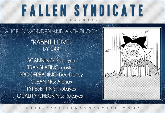 Alice in Wonderland (Anthology) 7 Page 1