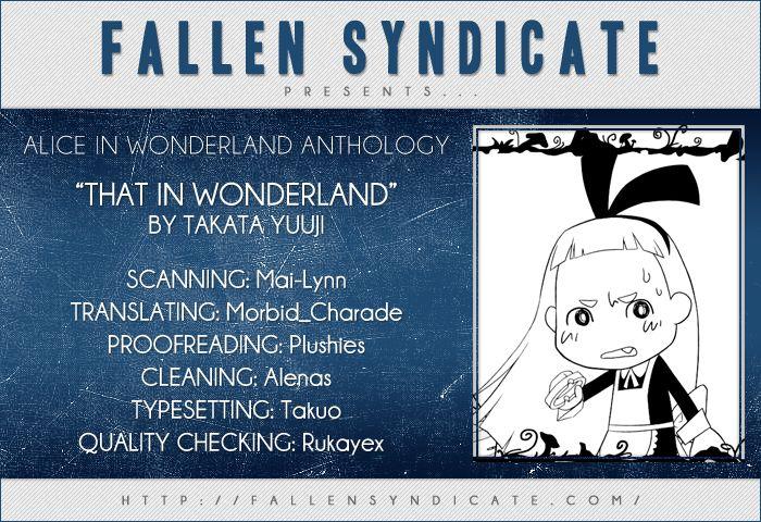 Alice in Wonderland (Anthology) 9 Page 1