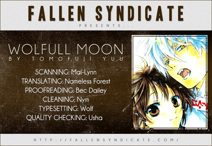 Wolfull Moon 1 Page 1