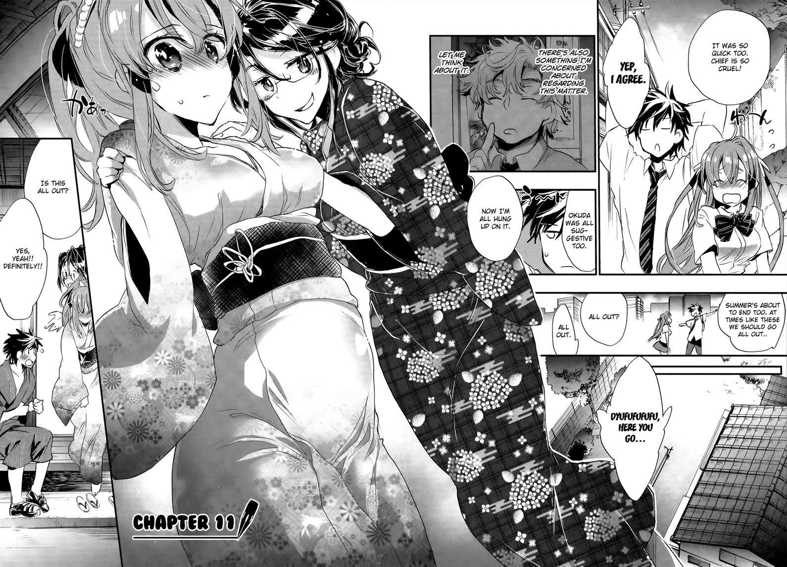 Onna no Ko ga H na Manga Egaicha Dame desu ka? 11 Page 2