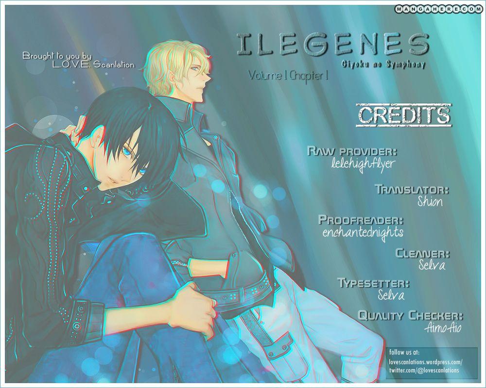 Ilegenes - Giyoku no Koukyoukyoku 1 Page 1