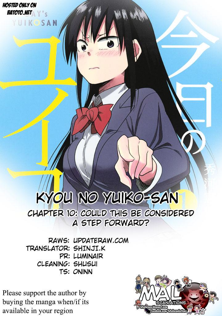 Kyou no Yuiko-san 10 Page 1