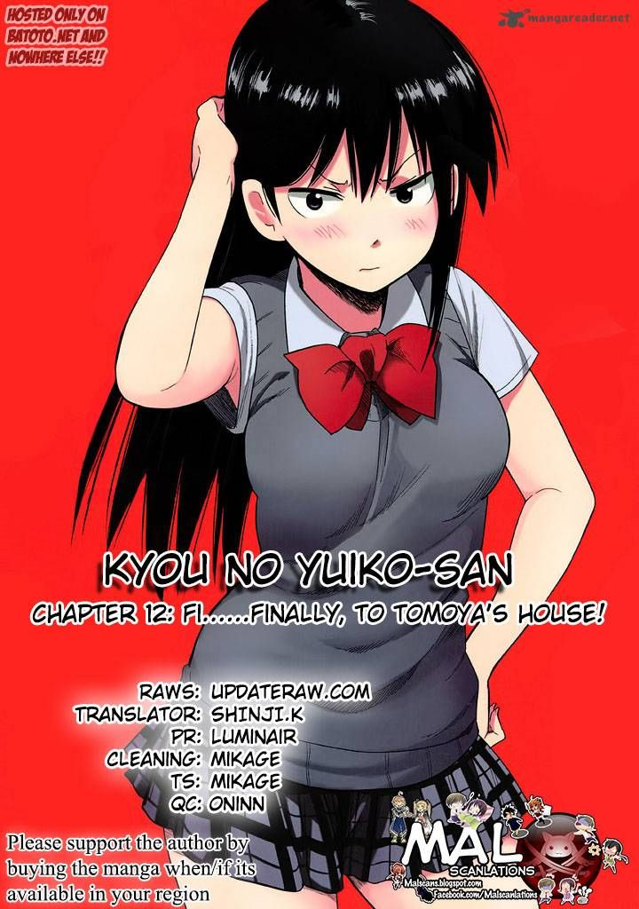Kyou no Yuiko-san 12 Page 1