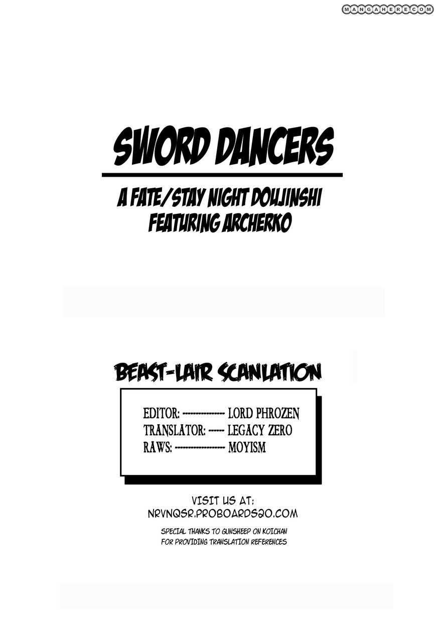 Fate/Stay Night dj - Sword Dancers 1 Page 2