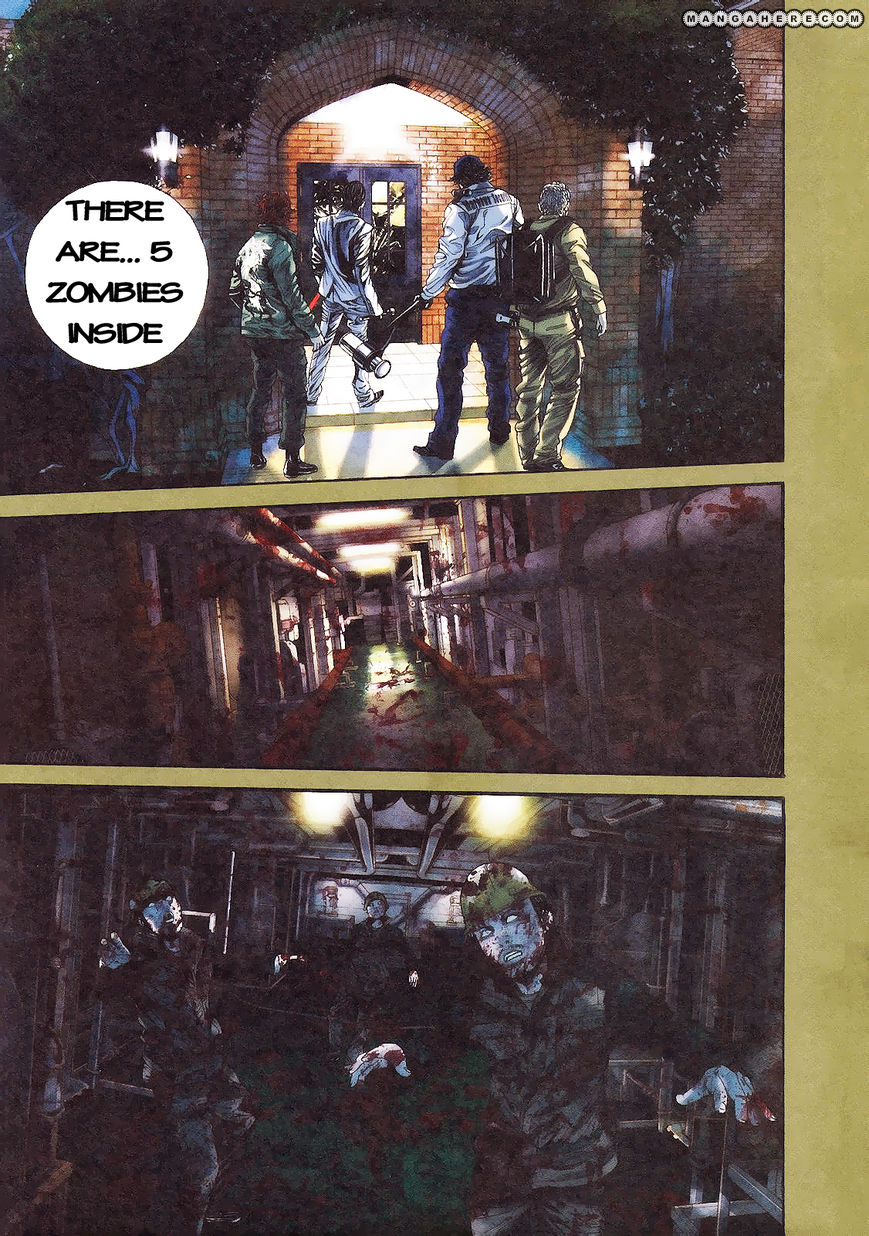 Biohazard - Marhawa Desire 7 Page 1