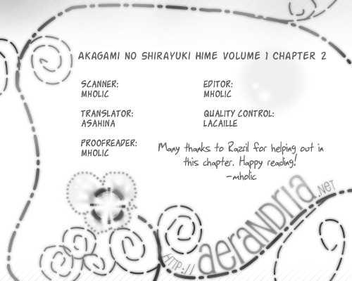Akagami no Shirayukihime 2 Page 1