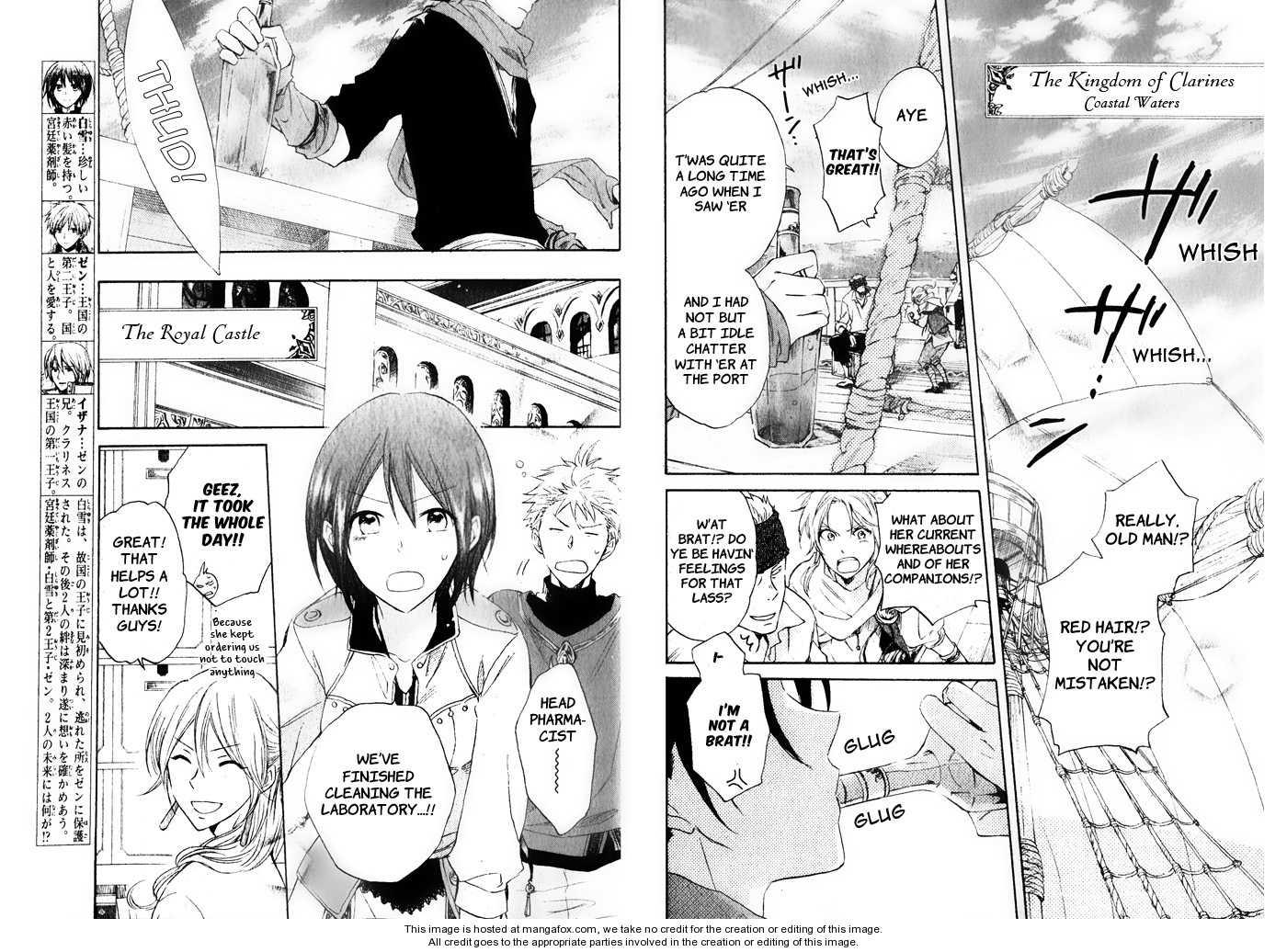 Akagami no Shirayukihime 18 Page 4