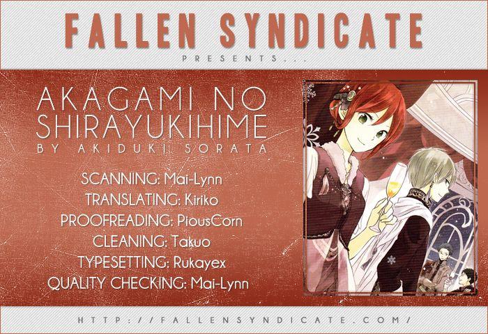 Akagami no Shirayukihime 40 Page 1