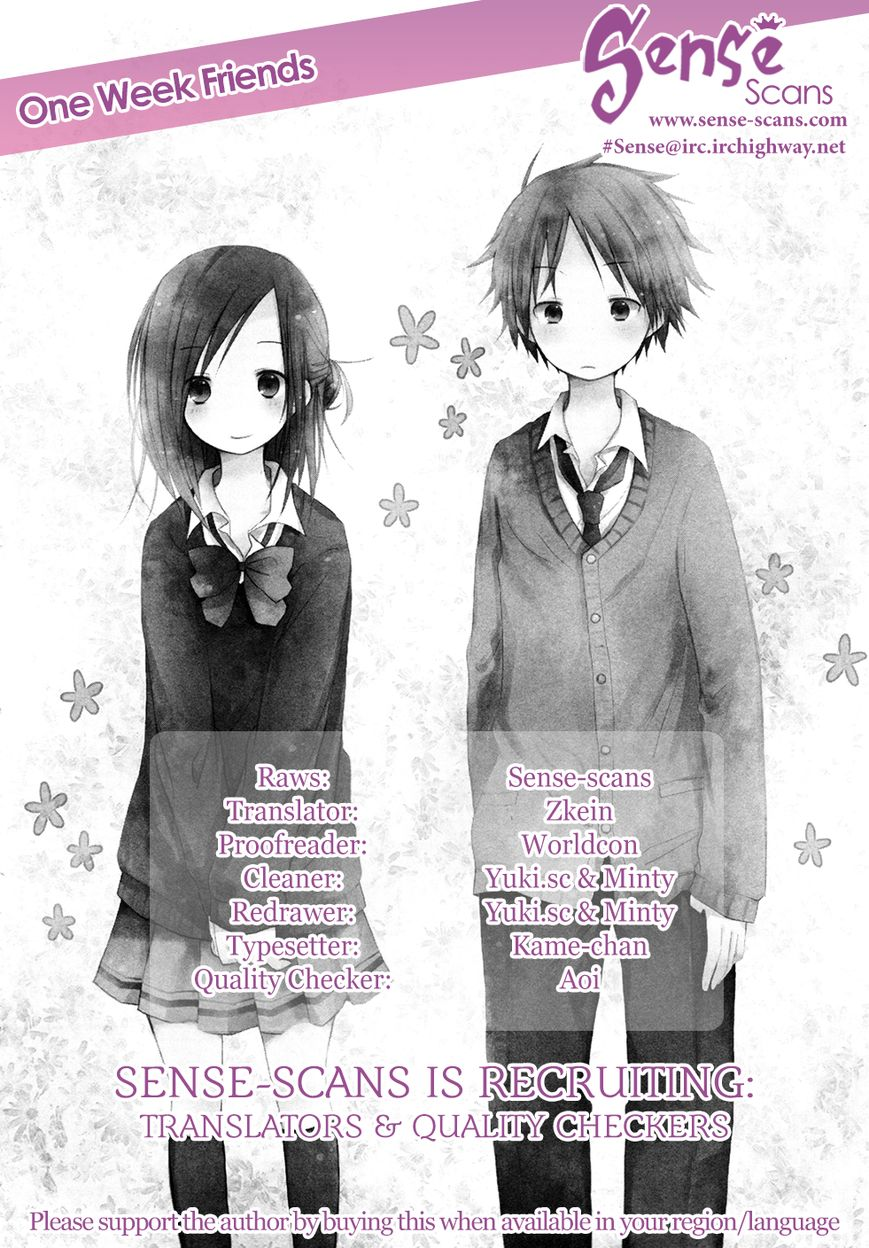 Isshuukan Friends 2 Page 1