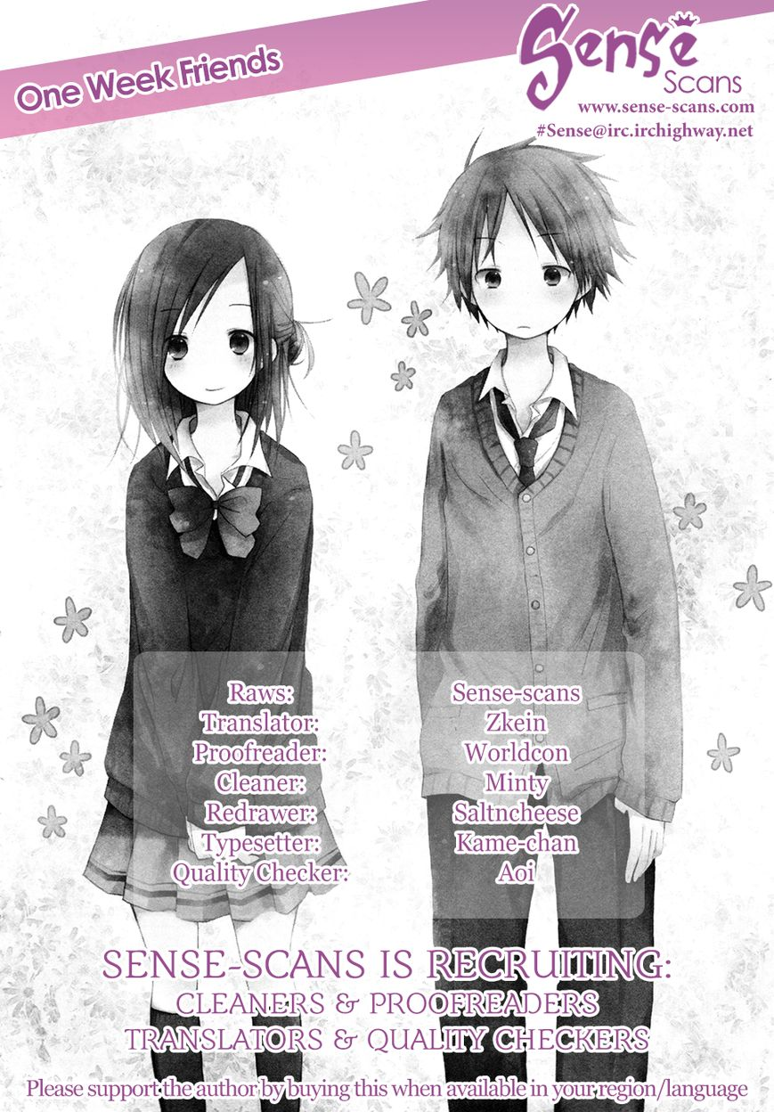 Isshuukan Friends 4 Page 1