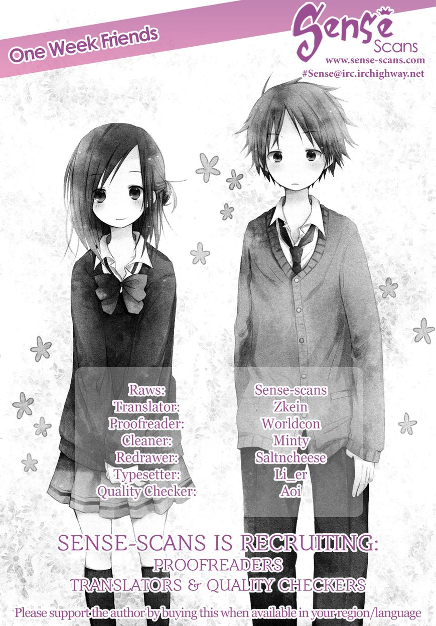 Isshuukan Friends 5 Page 1