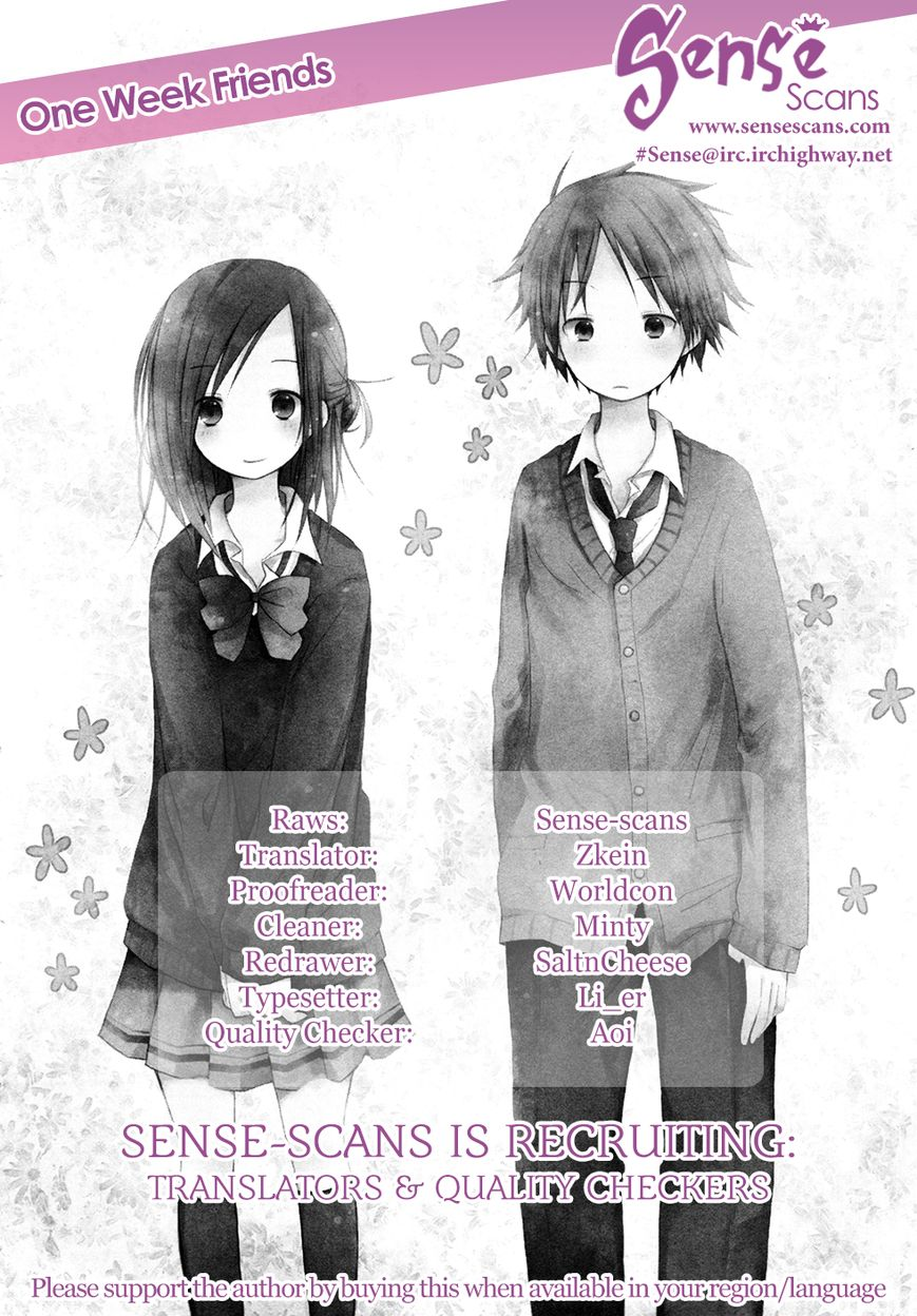 Isshuukan Friends 7 Page 1