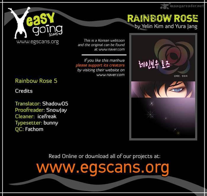 Rainbow Rose 5 Page 1