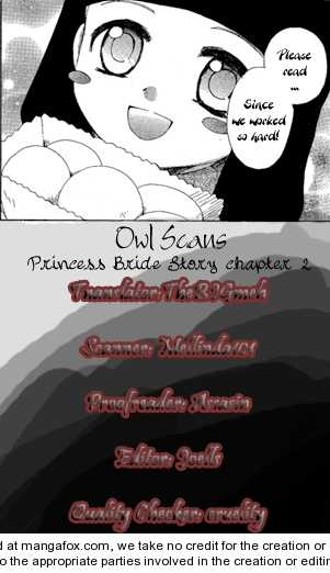 Princess Bride Story 2 Page 1