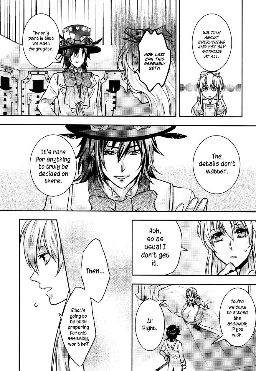 Clover no Kuni no Alice - Sangatsu Usagi no Kakumei 2 Page 2