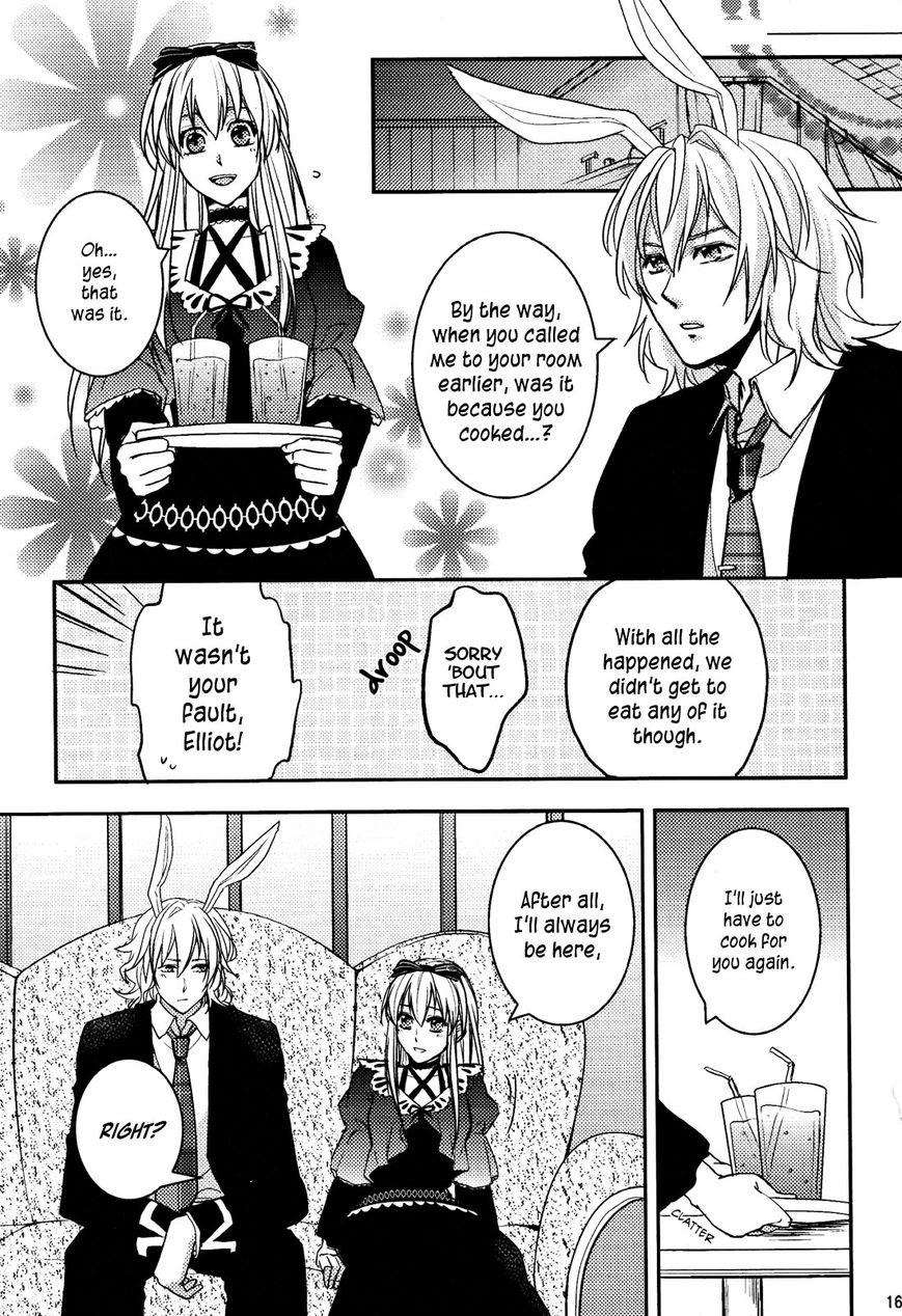 Clover no Kuni no Alice - Sangatsu Usagi no Kakumei 4 Page 2