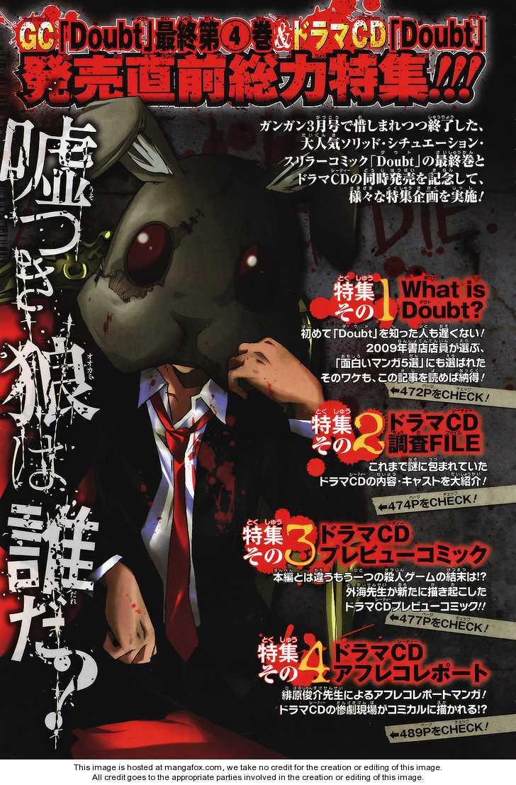 Doubt (TONOGAI Yoshiki) 20.5 Page 2
