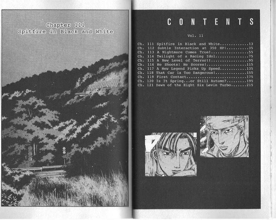 Initial D 111 Page 2