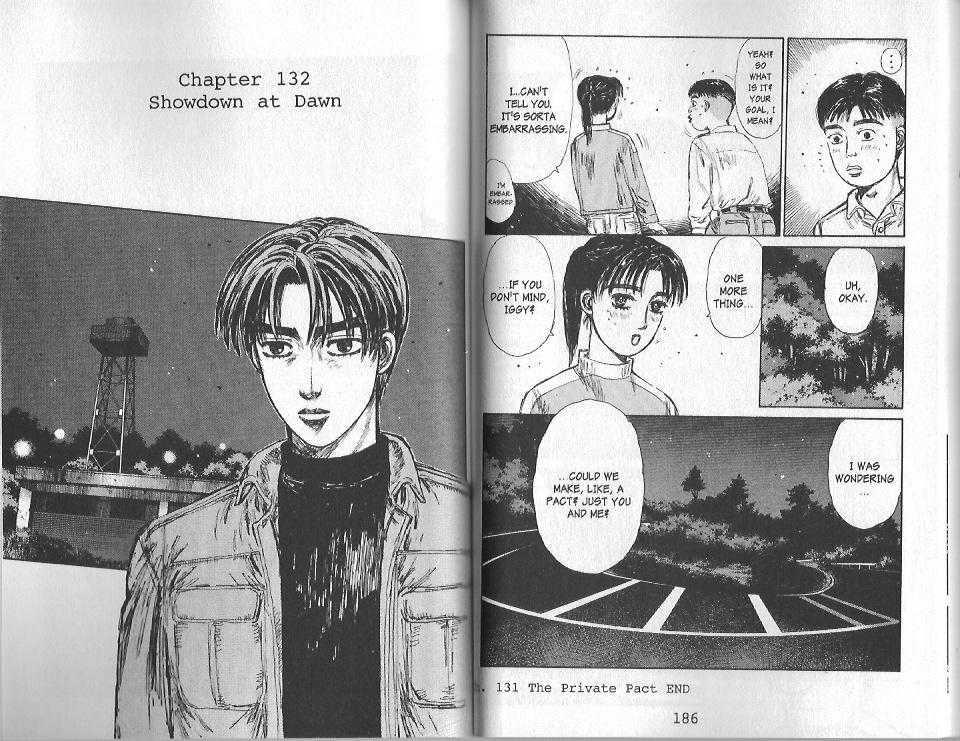 Initial D 132 Page 1