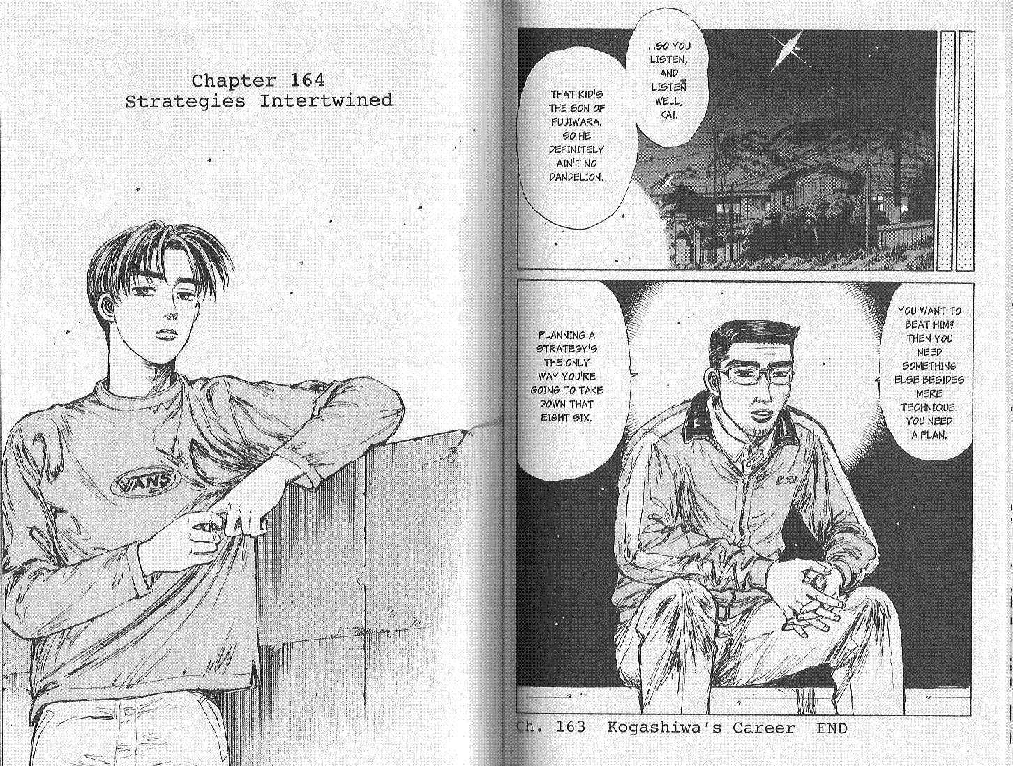 Initial D 164 Page 1
