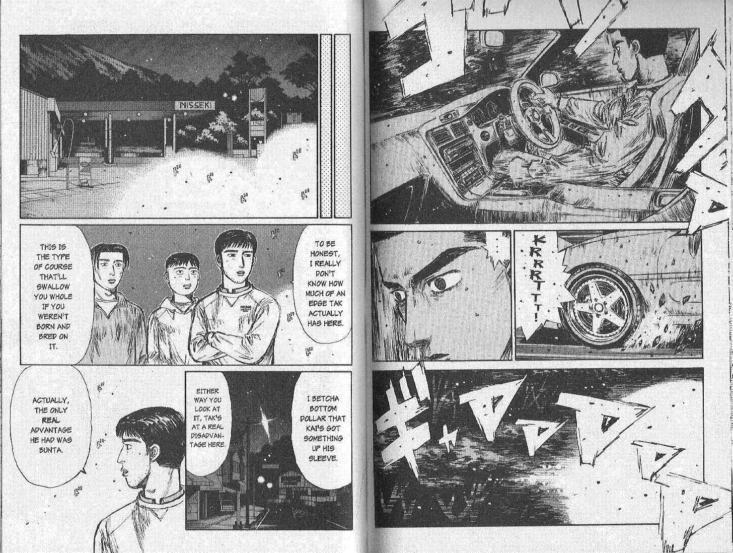 Initial D 166 Page 2