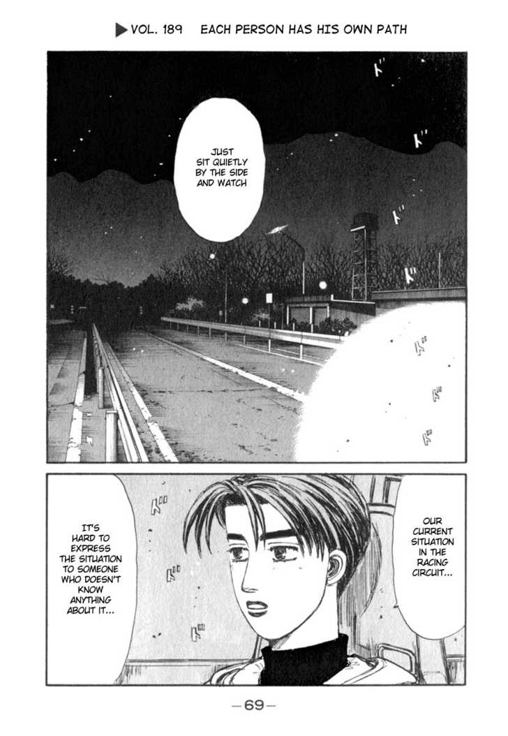 Initial D 189 Page 1