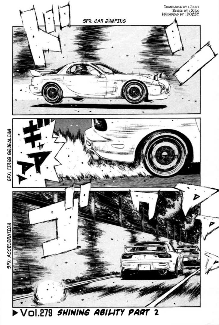 Initial D 279 Page 1