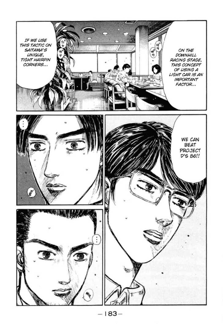 Initial D 287 Page 4