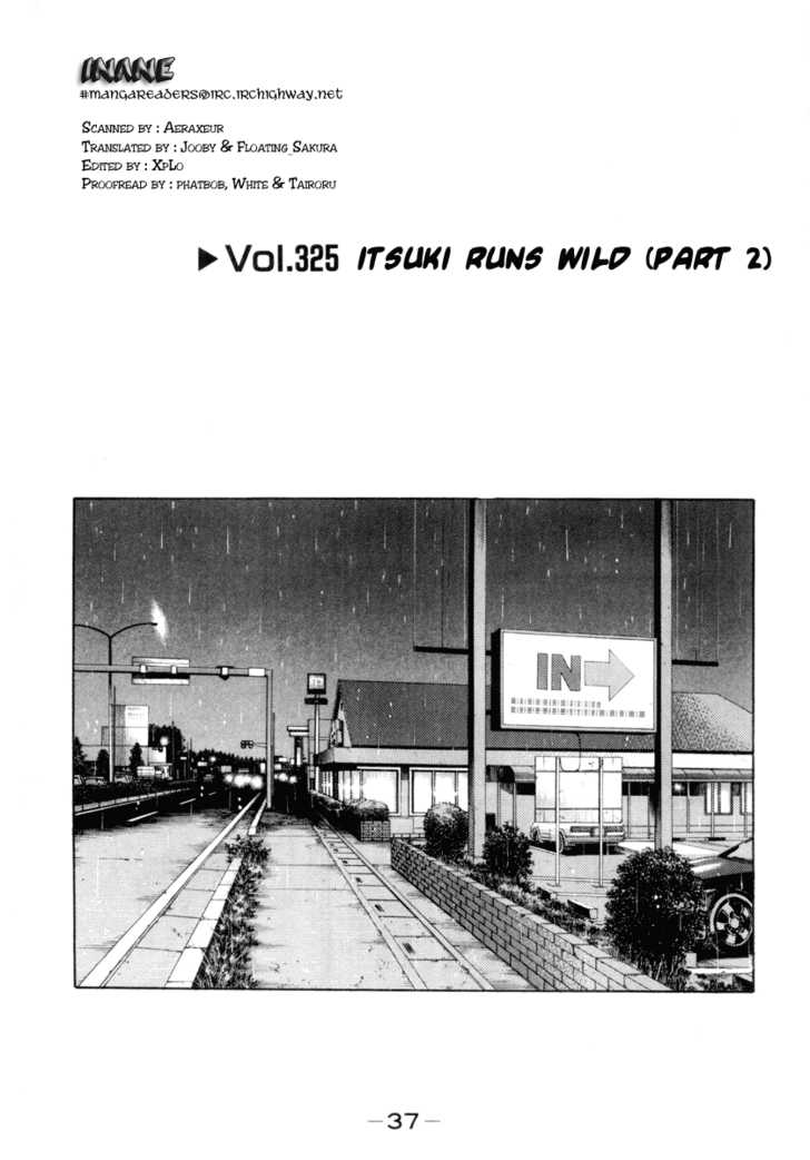 Initial D 325 Page 1