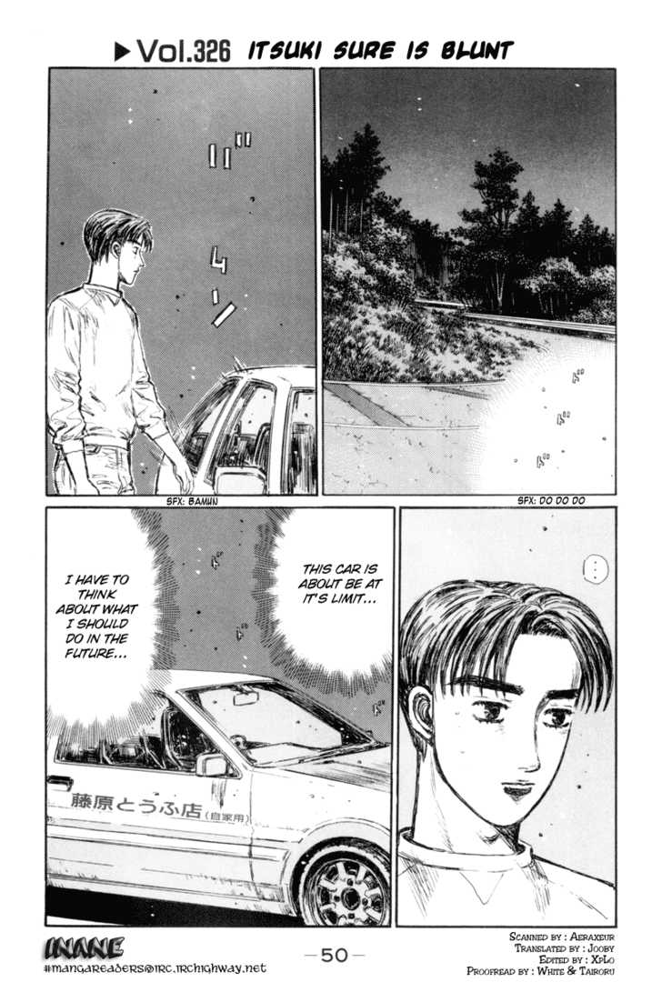 Initial D 326 Page 1