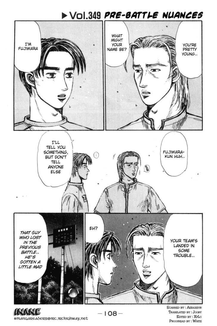 Initial D 349 Page 1