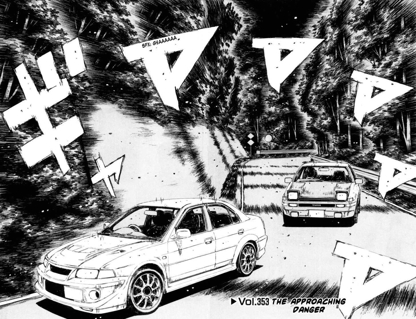 Initial D 353 Page 3