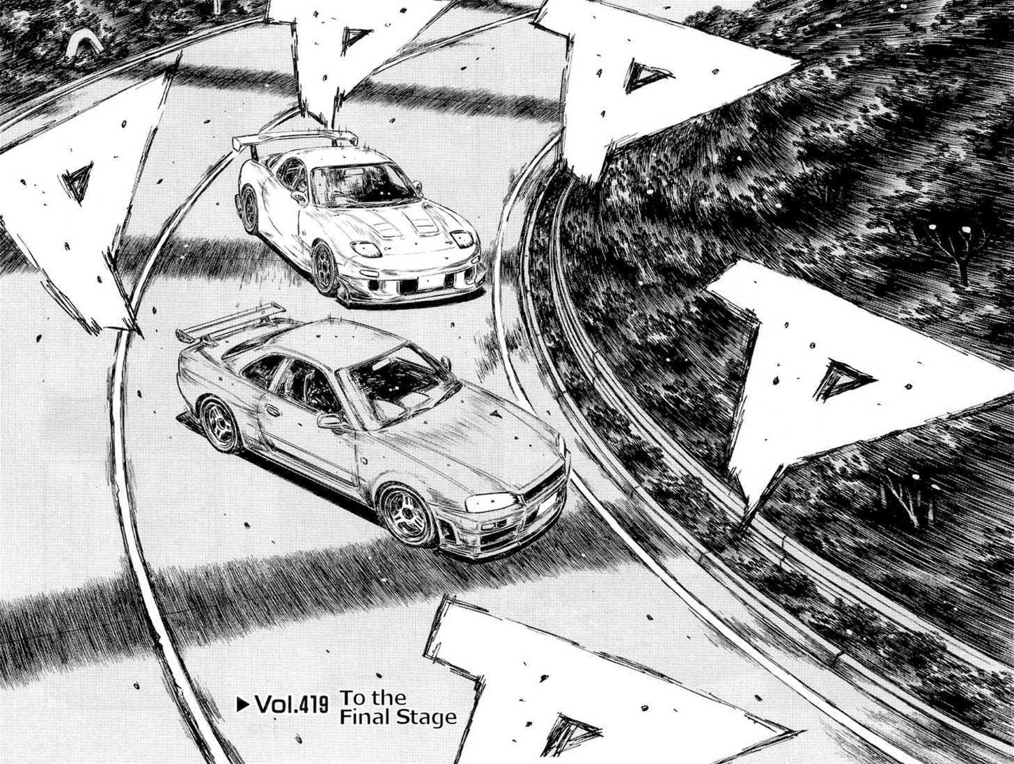 Initial D 419 Page 2
