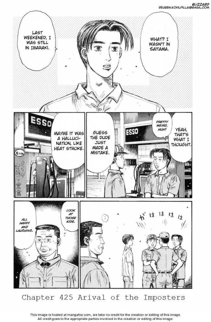 Initial D 425 Page 1