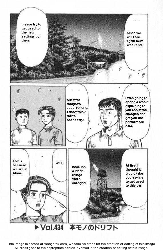 Initial D 434 Page 1