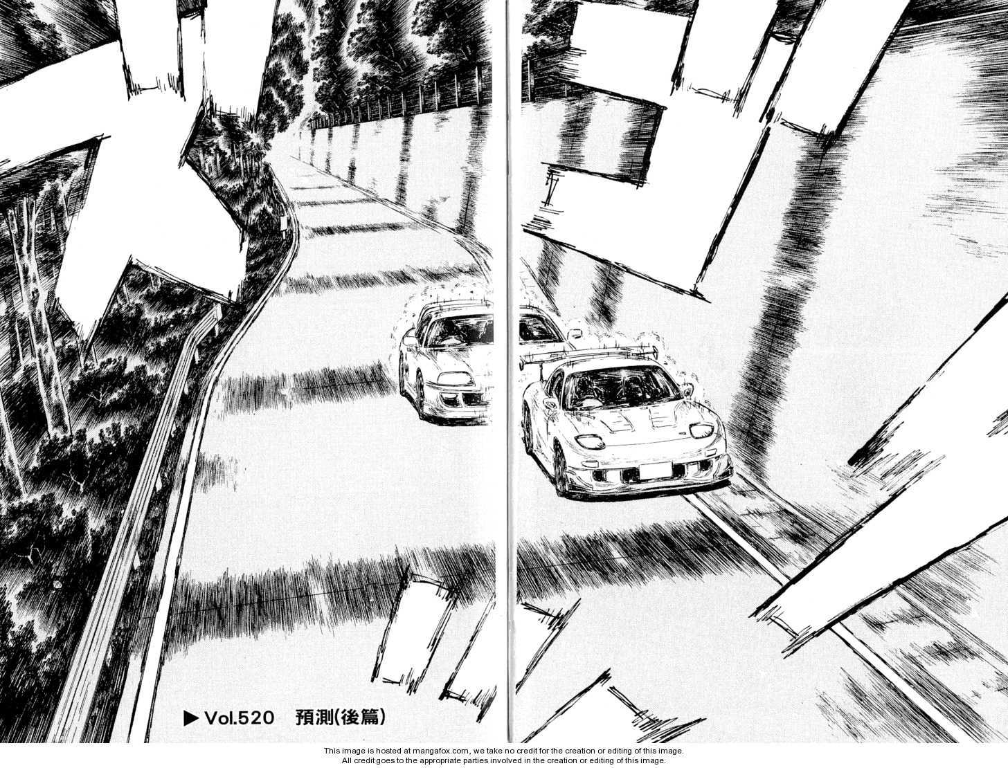 Initial D 520 Page 1