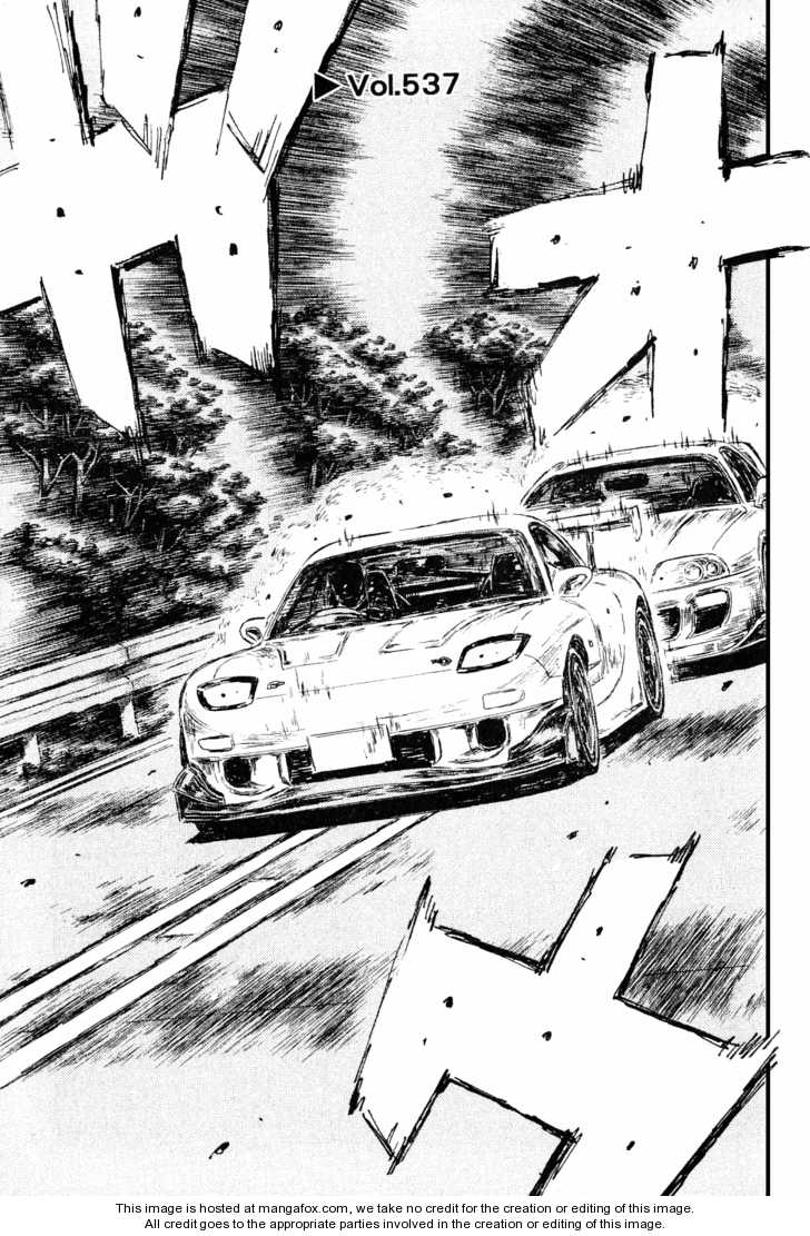 Initial D 537 Page 1