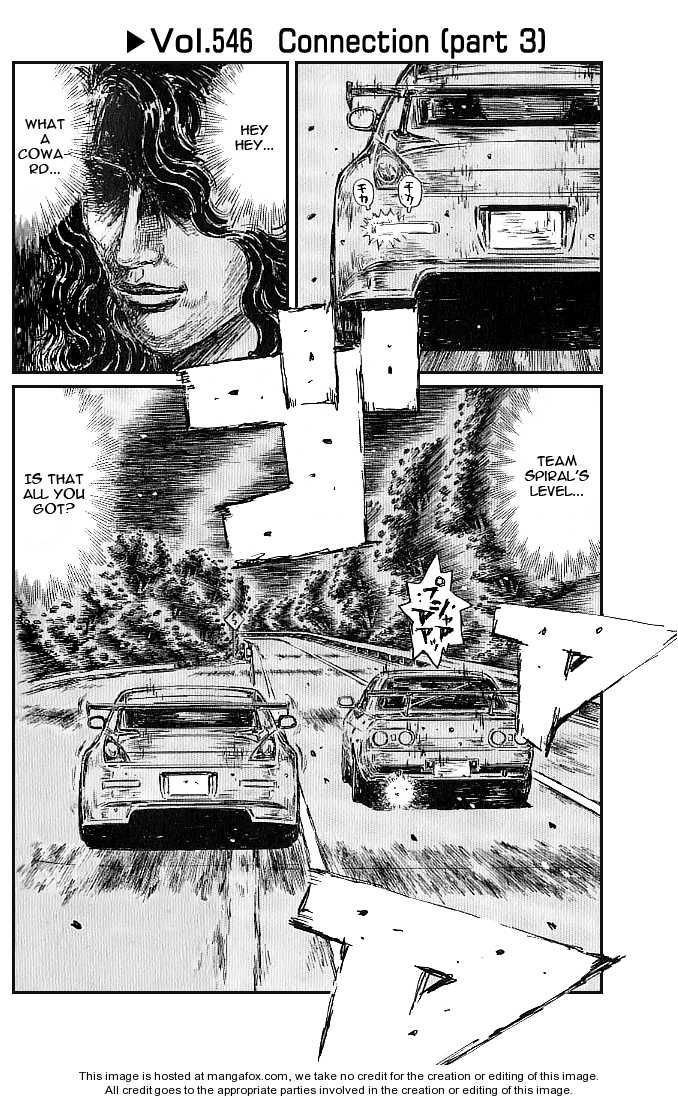 Initial D 546 Page 1