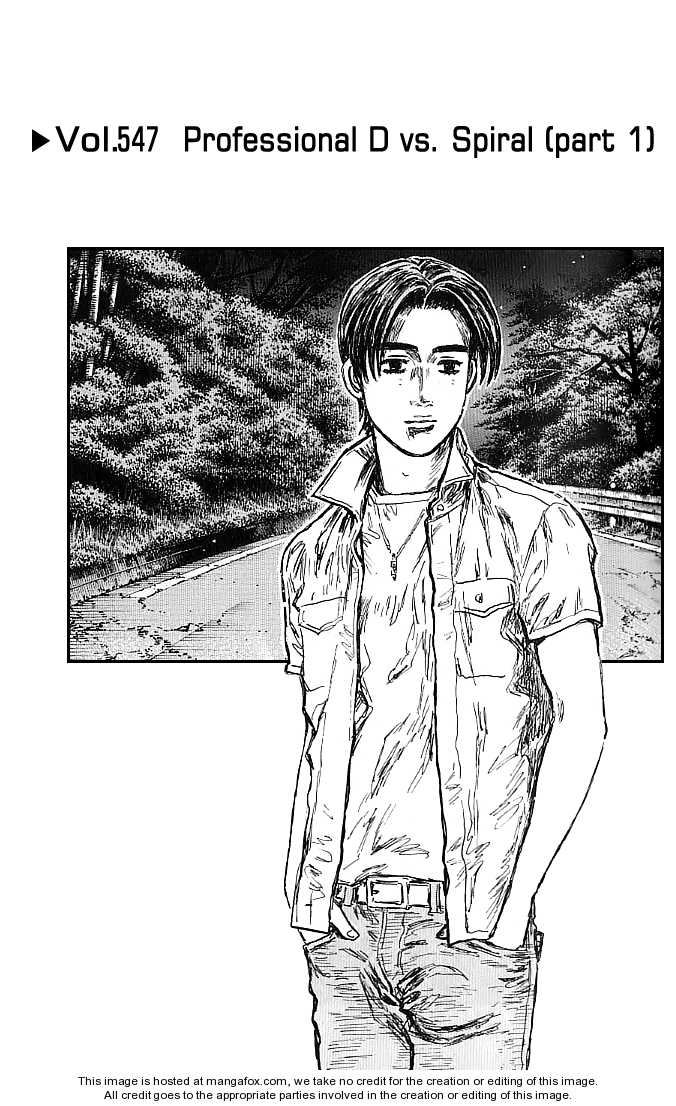 Initial D 547 Page 1
