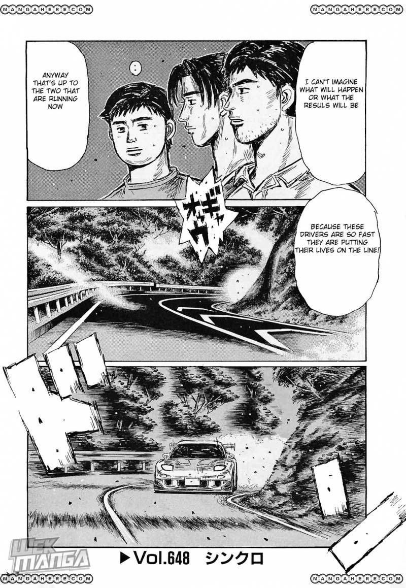 Initial D 648 Page 1