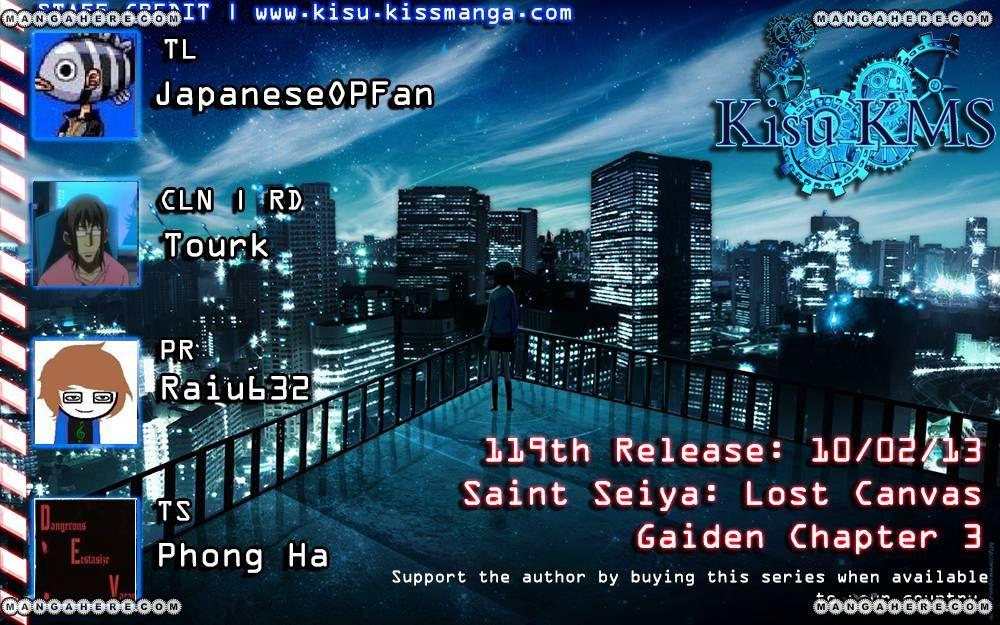 Saint Seiya - The Lost Canvas - Meiou Shinwa Gaiden 3 Page 2