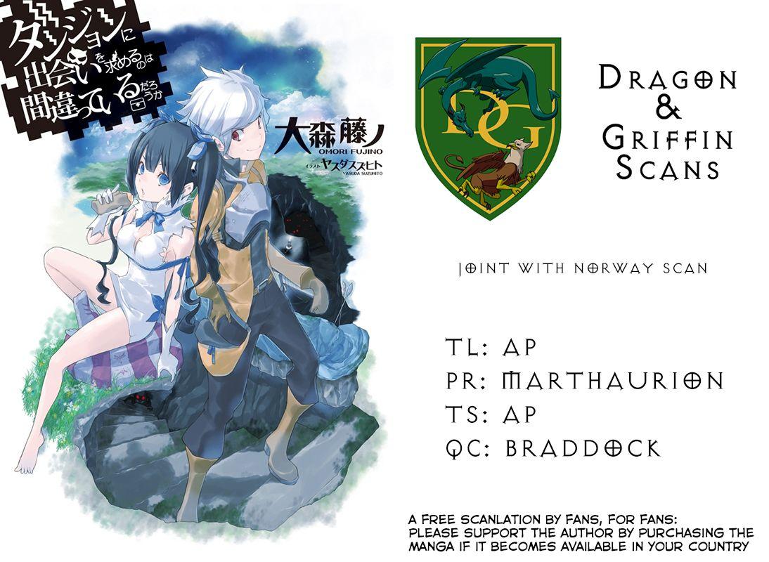 Dungeon ni Deai o Motomeru no wa Machigatte Iru Darou ka 9 Page 1