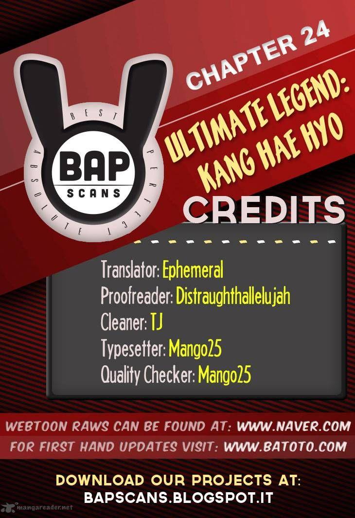 Ultimate Legend: Kang Hae Hyo 24 Page 1