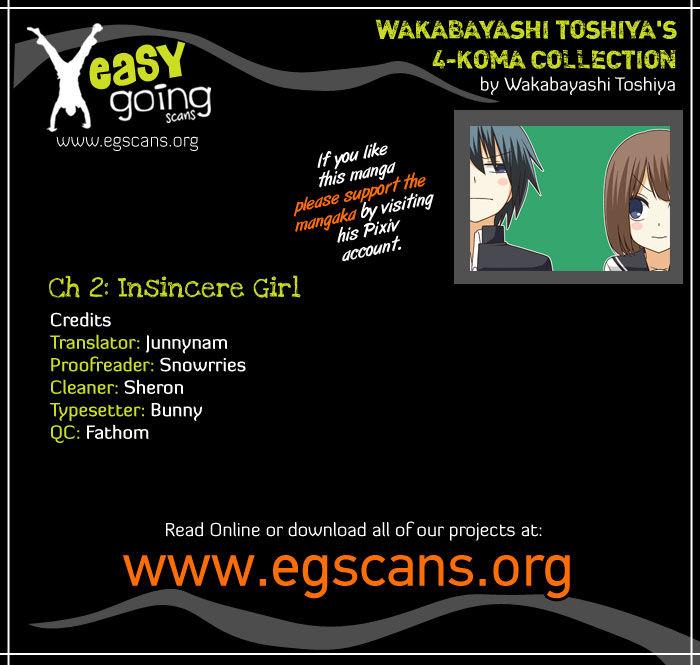 Wakabayashi Toshiya's 4-koma Collection 2 Page 1