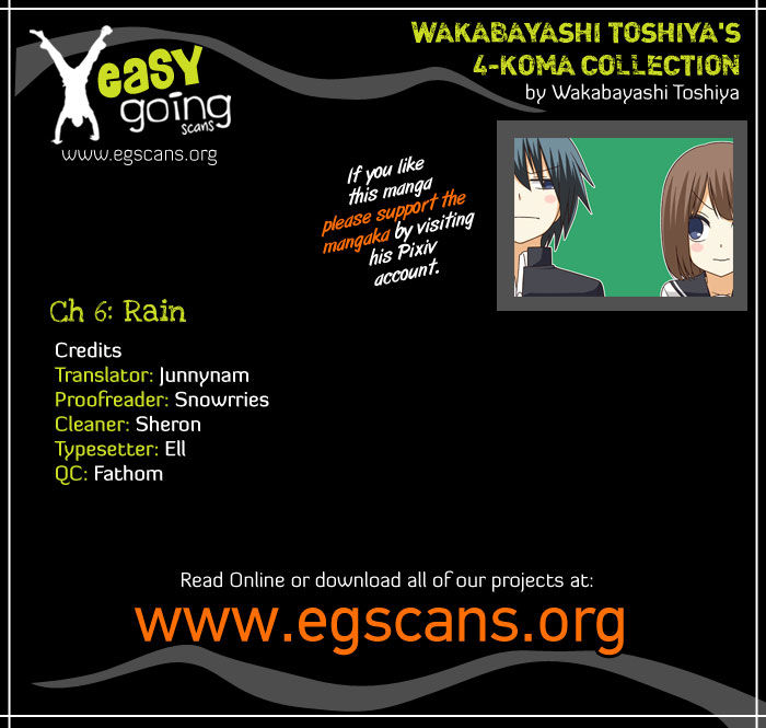 Wakabayashi Toshiya's 4-koma Collection 6 Page 1