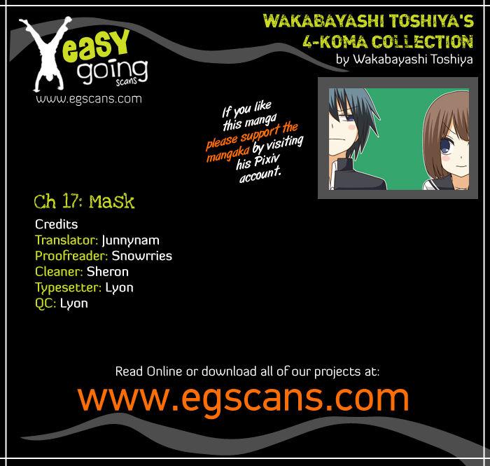 Wakabayashi Toshiya's 4-koma Collection 17 Page 1